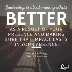 What does being a great leader mean to us?