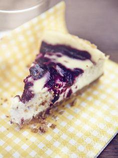 Great British Bake Off 2013 finalist Ruby Tandoh shares her Blackberry Ricotta Cheesecake recipe from her new cookbook, Crumb. Summer Cheesecake, Ricotta Cheesecake, Cheesecake Recipes, Dessert Recipes, Desserts, Paleo, Digestive Biscuits, Great British Bake Off, No Bake Cake
