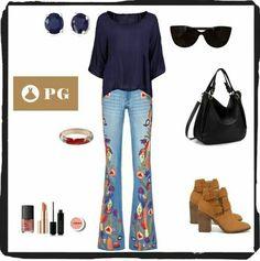 IDEAS: BLUSA MUY LIVIANA DE AMPLIO ESCOTE REDONDO Y MANGAS 3/4. LOS JEANS OXFORD BORDADOS SE LLEVAN TODAS LAS MIRADAS  #paulagarin #asesoradeimagen #imagenpersonal #imagenyestilo #belleza #moda #estilo #tendencias #fashion #look