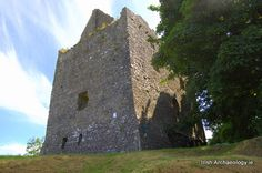 Dunmore Castle in North Galway by irisharchaeology.ie