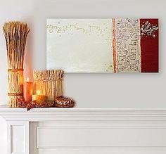 BENECiO original abstract modern painting #etsyfollow, art, modern, decor, @Linnea Heide $150