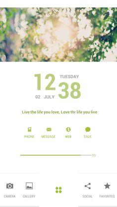 [Homepack Buzz] Check this awesome homescreen! Alice Park | My Homepack 여름맞이 초록초록, 백업용  위젯/아이콘 출처 - taylor님, HYUNJUNG WON님, 0609님