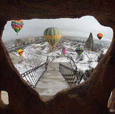 """discovercappadocia: """"Goreme - Cappadocia : kardinalmelon """""""