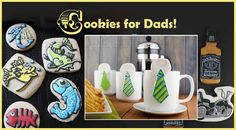 Saturday Spotlight on Cookie Connection: See the Top 10 Father's Day Cookies posted to the site.