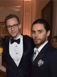 Tom Hiddleston & Jared Leto