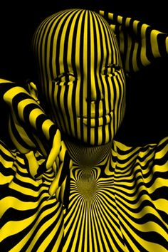 Welcome to celia basto Op Art, Mellow Yellow, Black N Yellow, Beste Gif, Motion Wallpapers, Cool Optical Illusions, Magic Illusions, Amazing Gifs, Illusion Art