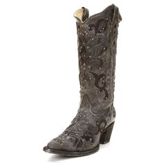 Corral Black Crater Cowgirl Boots