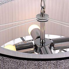 160W Moderne hanglamp met 4 lampjes Fissure Style Shade Glass Druppeltje van het Water – EUR € 239.99