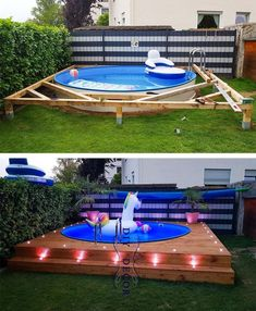 these spots you can put your swimming pool in the right place and can . With these spots you can put your swimming pool in the right place and can . With these spots you can put your swimming pool in the right place and can . Piscina Diy, Diy Swimming Pool, Diy Pool, Kiddie Pool, Pool Pool, Swimming Pool Decorations, Backyard Pool Designs, Modern Backyard, Diy Backyard Ideas