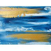 Found it at Wayfair - 'The Gilded Deep Blue and Gold Abstract' by Glam Gold Painting Print on Wrapped Canvas ART you can buy directly from us! Available in framed, canvas, posters, and prints! At prices that won't break the bank. www.buyart4less.com #buyartforless