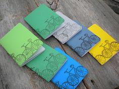 Stamped notebooks by MyHandboundBooks, via Flickr