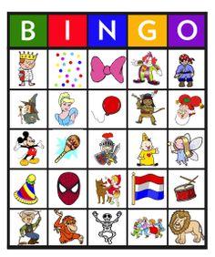 Feest: Bingo carnaval 8