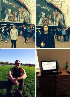 We got pics of Luke, Calum and Ashton today, and then there's Michael...