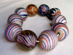beads made from marbles - Google Search