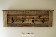 Hey, I found this really awesome Etsy listing at https://www.etsy.com/listing/463477454/rustic-coat-hook-or-towel-rack-for