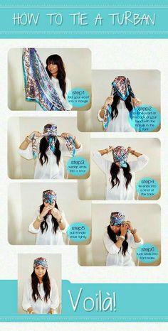 SoNelia - how to tie a turban