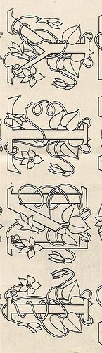 I N T Y Alphabet by Littlelixie, via Flickr