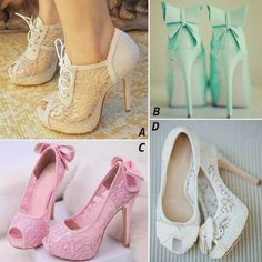 Selection of awesome shoes made with embroidery or lace... See more about lace shoes, lace heel...