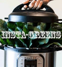 The latest positive influence that Instant Pot's glorious set-it-and-forget-it convenience has graced upon my cooking routine. something I like to call INSTA-GREENS. Beet Green Recipes, Chard Recipes, Healthy Foods To Make, Healthy Eating, Easy Instapot Recipes, Cooking Mustard Greens, Instant Pot, Burrata Recipe, Cook Fresh Spinach