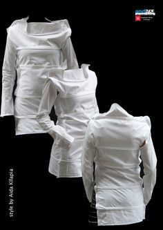 Another reconstructed white shirt, but check out the others, fascinating.