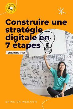 Construire une stratégie digitale est nécessaire pour toute entreprise, petite ou grande. #strategie #marketing #web #entrepreneuse