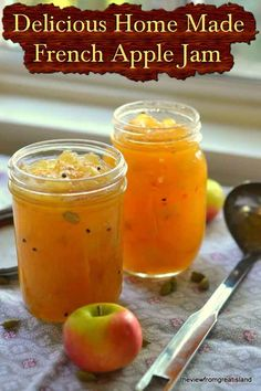 Delicious Home Made French Apple Jam