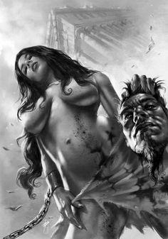 Ancient Rome Lucio Parrillo. #dark #sexy #horror