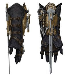 Hidden Blade Gauntlet  https://www.facebook.com/Gamers-Interest-188181998317382/