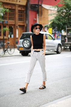 Remember When Your Favorite Bloggers Dressed Like This? #refinery29  http://www.refinery29.com/fashion-bloggers-first-outfit-posts#slide24  Danielle Bernstein now.