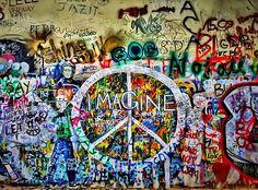 John Lenon wall, Prague