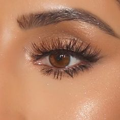 Summer golden glow eye makeup