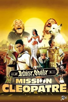 Watch Stream Asterix & Obelix: Mission Cleopatra : HD Free Movies The Egyptian Queen Cleopatra Bets Against The Roman Emperor, Julius Caesar,. Scary Movies, Good Movies, Mary Elizabeth Mcglynn, Queen Cleopatra, New Palace, Popular Ads, Film Streaming Vf, Egyptian Queen, People