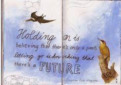 barbara bee - quote daphne rose kingma in my sketchbook