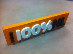 Piepschuim logo voor 100% NL Logos, Lab, Logo, Labs