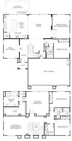 Residence Eight New Home Plan In Southern Highlands Olympia Ridge - Porte placard coulissante jumelé avec serrurier paris 17ème