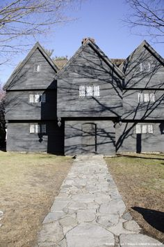 Salem Witch House - Salem, Massachusetts USA