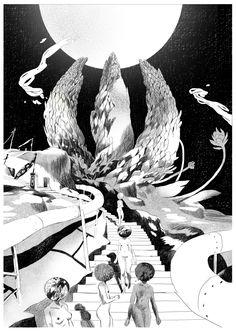 Illustrator & Artist:  Loic Locatelli Kournwsky  http://www.loiclocatelli.com/
