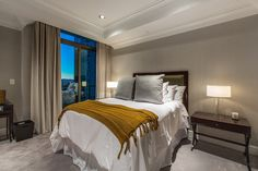 You also have a very spacious junior master, a climate controlled wine cellar and two amazing balconies that gaze out at remarkable city and mountain views.