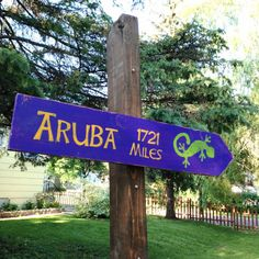 Custom Distressed Wooden Directional Sign by CurioObscurio on Etsy