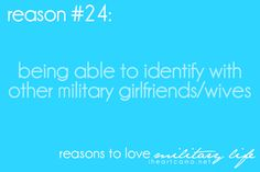You know you love somebody in Military... <3
