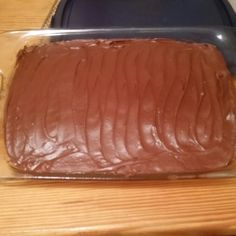 my mama has owned 3 bakeries before, which I have worked in at almost everything. But today at almost 55 was the 1st time I ever made my own frosting for my own cake, just to eat, . Wanted some chocolate so tried Hershey's Perfect Chocolate Frosting out . About to dig in⛏Am sure will be excellent!