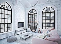 decordemon: White Loft in Russia