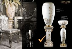 Exclusive decorative columns !  Made specialy on request !  http://www.luxuryproducts.pl/p,biale_filary_z_ceramiki,56575,1585.html