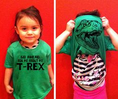 25 awesome kids T-shirts great ideas to use with the Silhouette