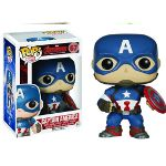POP Marvel: Avengers 2 - Captain America from Funko. The Age of Ultron is upon us and the Avengers are here in Pop form to save the day. This Captain America po Funko Pop Marvel, Marvel Avengers, Marvel Pop Vinyl, Avengers Film, Marvel Comics, Marvel Fan, Captain America Civil War, Captain America Figure, Capt America