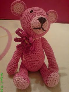 ourson crochet