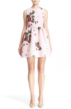 RED Valentino Cherry & Daisy Fit & Flare Dress at #Nordstrom