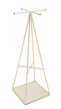 A useful piece from Umbra, a housewares and accessories line which brings originality to everyday items, this prismatic jewelry holder adds a unique feel to any room.    Gift Boutique Prisma Jewelry Stand