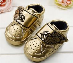 Nautical Theme Baby Shoes Sneakers Booties Pink Ribbon Laces Soft Comfortable