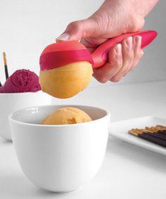 Mastrad Red & Orange Ice Cream Scoop on zulily today!